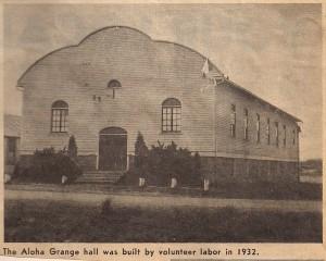 The Grange in 1932
