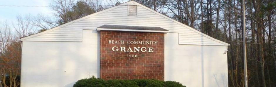 Beach Community Grange 958