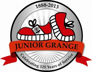 Jr grange 125 year logo