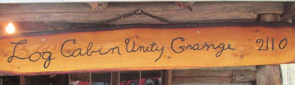 Log Cabin Unity Grange 2110