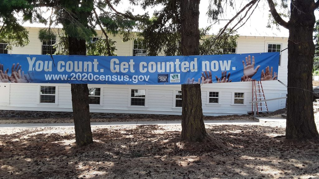 You counted. Get counted Now