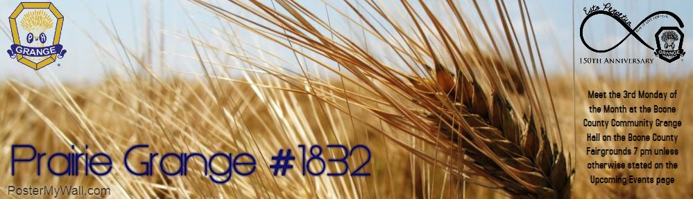 Prairie Grange 1832