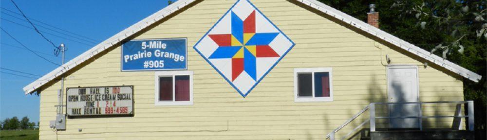 Five Mile Prairie Grange 905