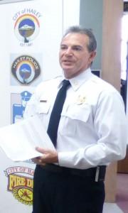 Fire Chief Craig Aberback